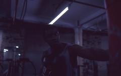 St.Saviour (fraser_west) Tags: portrait boxing gym actor film analog 35mm fujifilm fuji64t cinematic wetheconspirators lowlight