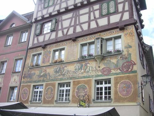 Onderweg naar Konstanz - Stein am Rhein