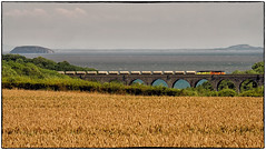 Channel Breeze (Welsh Gold) Tags: 70810 6c36 moorswater cornwall aberthaw works cement train porthkerry viaduct vale glamorgan barry southwales