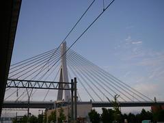 The Aomori Bay bridge (しまむー) Tags: panasonic lumix gx1 g 20mm f17 asph natural train tsugaru free pass 津軽フリーパス