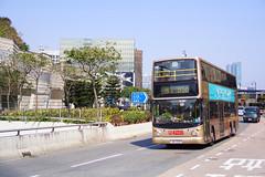 KMB Volvo B10TL 12m JN9021 81C (Thomas Cheung Bus Photography) Tags: bus hong kong public transport mass transit street volvo b9tl kmb kowloon motor double decker doubledecker superolympian super olympian alexander alx500