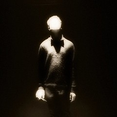 Up (ambientlight) Tags: night highlight figure male mystery mood light sky down beam look looking up boy man ufo ambientlight