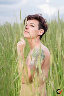 Tamara. Piel y Verde.
