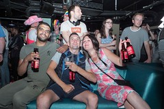 H510_8766-2 (bandashing) Tags: fifa worldcup 2018 england croatia fans celebrate drink alcohol clubs bars watch football cheer people printworks sylhet manchester bangladesh bandashing socialdocumentary aoa akhtarowaisahmed