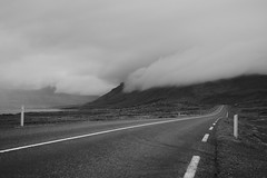On the road... un iceland (Christophe Toffolo) Tags: leica roadtrip street blackanswhite iceland