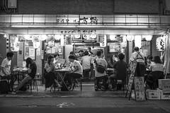 STRANGERS IN THE NIGHT (ajpscs) Tags: ©ajpscs ajpscs japan nippon 日本 japanese 東京 tokyo city people ニコン nikon d750 tokyostreetphotography streetphotography street seasonchange summer natsu なつ 夏 2018 shitamachi night nightshot tokyonight nightphotography citylights tokyoinsomnia nightview lights hikari 光 dayfadesandnightcomesalive alley strangers urbannight attheendoftheday urban othersideoftokyo walksoflife urbanalley tokyoscene anotherday monochromatic grayscale monokuro blackwhite blkwht bw blancoynegro blackandwhite monochrome streetoftokyo strangersinthenight