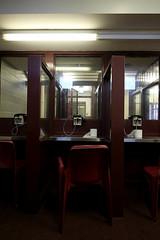 No-Contact Visitation Booths (Skye_Ann) Tags: historic historical history prison haunted kingston kingstonontario ontario ontariocanada jail penitentiary kingstonpenitentiary kp