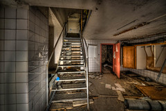 Under the Kitchen (Jan Fenkhuber Photography) Tags: urbex cliniquedudiable france alsace urban cellar dark hdr photography clinic sanatorium hotel abandoned decay exploration building light indoorsalsacebuildingcellarcliniquedudiableeuropefranceindoorroomstairsstosswihrurban