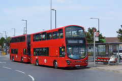 Go Ahead London General WVL468 (LJ61NWX) on Route 101 (hassaanhc) Tags: wrightbus goaheadlondon goaheadgroup goahead volvo b9tl