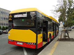 Solaris Urbino 12 Electric, #1918, MZA Warszawa (transport131) Tags: bus autobus mza warszawa ztm warsaw wtp solaris urbino 12 electric