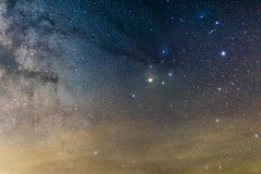 Rho Redux (Jay:Dee) Tags: astrophotography rho ophiuchi antares scorpio star space constellation killbear provincial park ioptron sky tracker