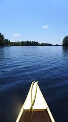 canoe trip on Pike Lake 1