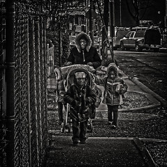 """A Mother's Love Is The First And Foremost Spiritual Relationship In A Child's Life"", Martin Luther King Jr. Avenue, Historic Anacostia, Washington, DC (Gerald L. Campbell) Tags: streetphotography street squareformat spirituality spiritualindifference socialdocumentary bw blackwhite blackmale citylife community dc digital freedom historicanacostia kids love martinlutherkingjravenue urbanphotography urban washingtondc woman yearning yeswecan youth youngboy younggirl canonsx60hs"