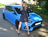 My Blue Baby (Miss Nina Jay) Tags: dress tights heels