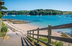 On to the Beach! St Mawes, Cornwall, UK (David Lea Kenney) Tags: beach beaches beachscape seascape sun coast coastline explore travel cornwall england uk sea sand sky ocean water landscape bay a6000 stmawes