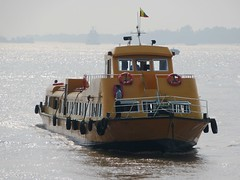 Yangon Water Bus (D-Stanley) Tags: burma myanmar yangon hlaing river botahtaung insein ferry boat