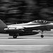 Panning A Growler at 1/45 sec at OLF in Black & White