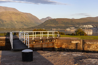 Canal Ft William and Ben Nevis