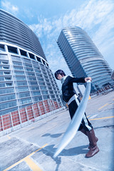 Yato (bdrc) Tags: 1116mm a7iii alpha alphauniverse asdgraphy cosplay f28 fullframe girl mall noragami paradigm parking people portrait relyss rooftop sony sonyalpha sonyimages sonyphotography space tokina ultrawide yato