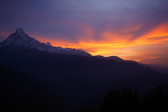(koskimoski) Tags: panasonicgx7 panasonic20mm17 20mm17 20mm lumix lumix20mm17 microfourthirds nepal himalaya mountain mountains annapurna asia sunset view breathe fresh space infinity sky snow highness lanscape