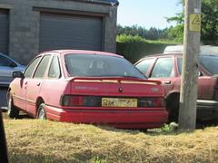 Ford Sierra XR4x4 (Andrew 2.8i) Tags: car classic carspotting street spot spotting rust abandoned xr xr4 xr4x4 sierra laser 20 capri ford scapyard junkyard scrap junk yard