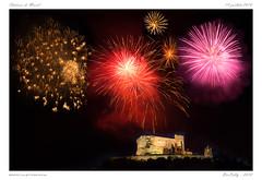 Château de Murol [PdD] (BerColly) Tags: france auvergne puydedome murol sancy feuartifice fireworks nuit night 14juillet bercolly google flickr
