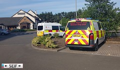Ford Transit + Volkswagen transporter T6 East Kilbride Scotland 2018 (seifracing) Tags: ford transit volkswagen transporter t6 east kilbride scotland 2018 kent fire rescue search dogs visitors seifracing spotting services scottish emergency europe road transport traffic cars vehicles voiture security seif