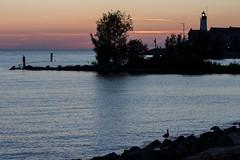 Peaceful blue sunset (Marilely) Tags: orange sun soft colors sunset lelystad nederland netherlands north sea niederlande water ocean movement wellen waves sonnenuntergang beach strand hafen haven harbour urk zonsondergang zonsondergangen oceaan ijsselmeer seascape ligth blue hellblau
