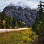 Trees and Mountains to Savor a View While Driving in the Beautiful British Columbia thumbnail