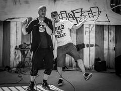P6160027 (Cardinal Guzman) Tags: 2018 gsf gamlebyensportogfritid gatasparlament krakabøla krakabølamarked oslo juni konsert sommer summer hiphop rap blackandwhite bw people livemusic music event