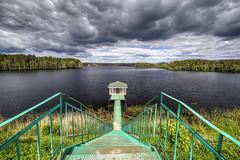 20180609-110347-Карелия (vdirenko) Tags: russia lodeinopolskiydistrict alexandersvirskymonastery roshchinskylake monastery lake pier