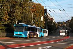 Verkehrsbetriebe Luzern Nr. 260/312 + 203 Tribschenstrasse (Bus und Bahn by SF) Tags: naw hess siemens rj bt25 anhängerzug lanzmarti vosslohkiepe swisstrolley bgtn2c verkehrsbetriebe luzern vbl luzernerfest vollwerbung trolleybus oberleitungsbus obus filobus