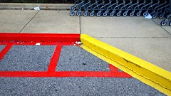 Hurricane  Season (Studio d'Xavier) Tags: hurricaneseason red yellow curb pavement