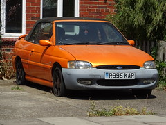1997 Ford Escort 1.8 Ghia Cabriolet (Neil's classics) Tags: vehicle 1997 ford escort 18 ghia