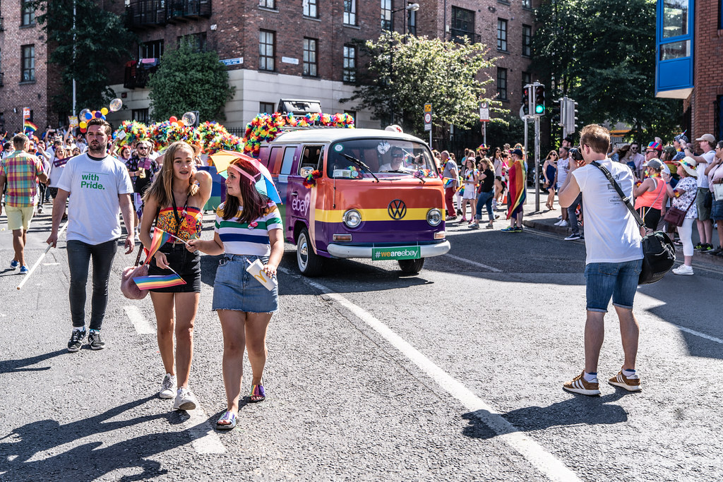 ABOUT SIXTY THOUSAND TOOK PART IN THE DUBLIN LGBTI+ PARADE TODAY[ SATURDAY 30 JUNE 2018] X-100268
