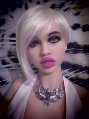 Mannequin doll (capricornus61) Tags: tpe doll puppe lifesize weiblich female frau woman sexy lips art body face hobby collecting sammeln