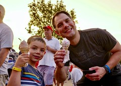 Derby-Shelton Fireworks 2018 - Ice Cream! (nomad7674) Tags: 2018 20180703 independenceday independence day july3 july4 fireworks pyrotechnics sheltonct derbyct shelton derby derbysheltonfireworks celebration l lman babyl will william ice cream icecream
