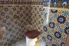 Toilet in Casa Vicens, Barcelona (*SHERWOOD*) Tags: spain barcelona casavicens antonigaudí