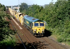 Freightliner 66544 - Mansfield (the mother '66' 66001) Tags: freightliner class66 66544 mansfield tenterlane thoresbycolliery highmarnham robinhoodline nottinghamshire