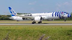 JA873A (Breitling Jet Team) Tags: ja873a star wars r2d2 livery ana all nippon airways euroairport bsl mlh basel flughafen lfsb
