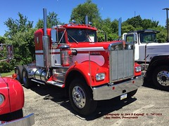 1979 Kenworth, 7-07-2018 (jackdk) Tags: truck semi semitruck truckshow bigtruck tractor tractortrailer antique antiquetruck antiquevehicle kw kenworth kwopper 1979 1979kw aths steelvalley steelvalleychapter athssteelvalley