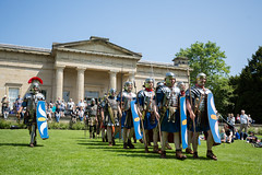 2016-06-05 - 20160605-018A8197 (snickleway) Tags: roman yorkshire museumgardens yorkromanfestival canonef1740mmf4lusm historicalreenactment park soldier york england unitedkingdom gb