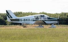 G-BKDJ (goweravig) Tags: gbkdj robin dauphin dauphin80 visiting aircraft swansea wales uk swanseaairport cotswoldaeroclub