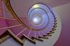 Wendeltreppe - Spiral Staircase (Heinrich Plum) Tags: heinrichplum plum fuji xt2 xf1024mm candy rosa pink farben munich münchen bavaria bayern