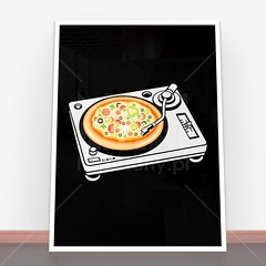 Plakat Pizza Scratch (nasciany) Tags: plakat plakaty nascianypl dekoracje wall wallpaper walls plakatydekoracyjne ilustracja posters print decor decortion art homedecor home homesweethome interiordesign decorations interior design walldecor walldecoration homedesign printablewallart decorativeposter wystrojwnetrz illustration