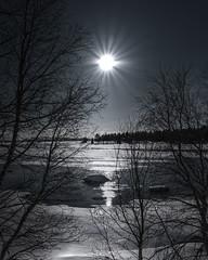 Rays of Lights (Luca Enrico Photography) Tags: winter inverno snow neve sun sole raggi rays landscape paesaggio lago lake iced d750 nikon