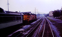 Baltimore & Ohio 6495 (CPShips) Tags: bo chessiesystem emd gp9 budd rdc brunswick 1977