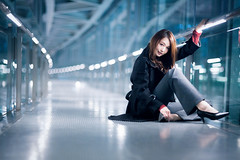 portrait girl (fukuyoshi35) Tags: 東京 tokyo ポートレート canon sigma girl ウーマン japan beautiful photo