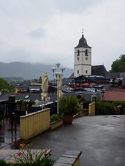 Around St Wolfgang-E7060140 (tony.rummery) Tags: austria church em10 mft microfourthirds omd olympus stwolfgang town village sanktwolfgangimsalzkammergut oberösterreich at