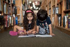 The old bookstore (9655TS) Tags: book books bookstore reading twins child children nikond750 nikon